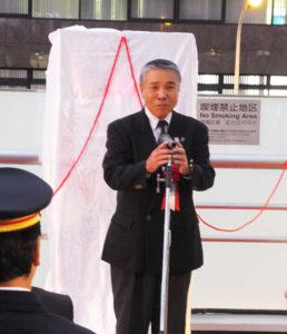 ラグビーW杯開催が決まったことは奇跡。嬉しく、感動したと神奈川県ラグビーフットボール協会の三浦理事長も、まずは11月4日開催のテストマッチの観戦を呼び掛ける