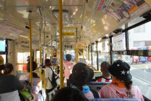 綱島駅から日産スタジアムを経由して新横浜駅へ向かうバスはほとんどがケツメイシのライブへ行く人が乗っていました