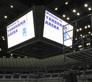 2016年は1月から半年にわたるリニューアル工事を施し、7月に再オープンした横浜アリーナ