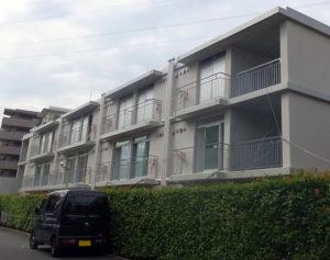 「大倉山シニアハウス+」とみられる大豆戸町の物件