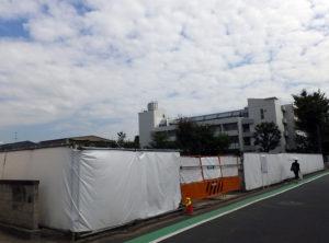 すでに「三光汽船大倉山寮」は取り壊されて更地となっている(2016年10月7日撮影)