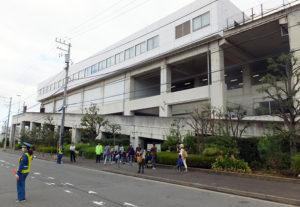 ブルーラインの北新横浜駅の近くにある「新羽車両基地」
