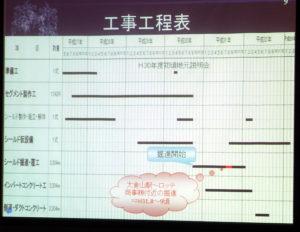 「新横浜トンネル」(新横浜駅~新綱島駅間=約3.3キロ)の工事スケジュールが示された