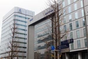 ビルが並ぶ新横浜の街並み