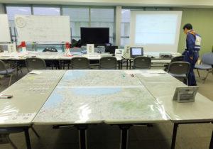 【訓練】神奈川県は日産スタジアム内に危機管理対策本部を設置