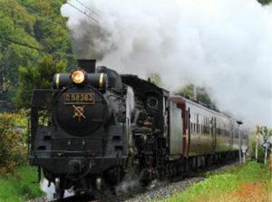 3月25日(土)・26日(日)の2日間に運転されるSL列車(西武鉄道ニュースリリースより)