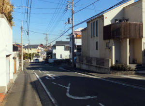 閑静な住宅街の富士塚1~2丁目