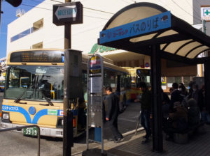 「第33回全国都市緑化よこはまフェア」の開催にともない中山駅から会場の「里山ガーデン」に近い「よこはま動物園北門」バス停まで平日9便が延伸運転される