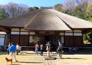新羽駅近くの西方寺