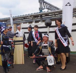 地元出身の横濱スカーフ親善大使や、戦国時代の体験イベントも話題に