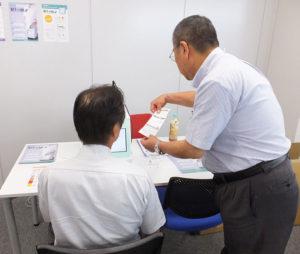 健康経営や健康管理の個別相談会、自己チェック体験会も定期的に開催していきたいと同センター。多く近隣企業の社員の健康増進に役立つかに注目が集まる