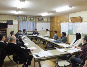 先月(2月)26日に行われた「岸根WEB運営委員会」の様子。それぞれの所属団体から、活発な提案や意見が出されていた