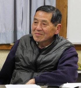 """岸根WEB運営委員会を立ち上げた浜田正二委員長。岸根町内会の会長も務めるが、「町内会だけではなく、""""オール岸根""""で取り組むことが大切」と力説する"""