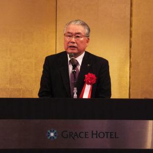 神奈川県安全運転管理者会連合会の大木宏之会長は、1998年春から翌1999年秋まで港北警察署長を務めていた。「当時熱心だった」港北区の会員の活動について想い出を語った