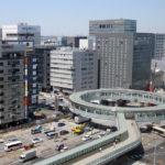 新横浜「円形歩道橋」