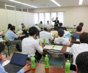 神奈川税務署、税理士、経済産業省の担当者が、消費税率「軽減税率」や対策補助金、キャッシュレス・消費者還元事業についての説明がそれぞれ行われました