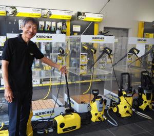 高圧洗浄機はサイレントシリーズ5種類のいずれかの製品を購入時に、これまで使用してきた自社・他社製品の「下取りサービス」を実施している(9月30日まで)