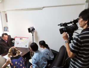 「わがまち港北映像プロジェクト」の伊藤幸晴代表が撮影を行った。同プロジェクトでは参画・協力してくれるメンバーを募集している
