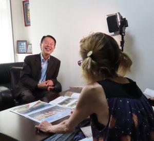 金子会長は、これからも新横浜周辺の地域の歴史を次世代に語り継いでいく