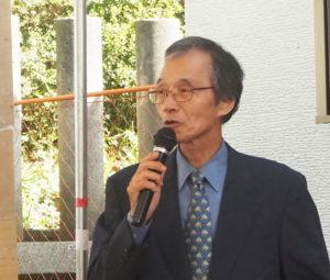 会会長で、創建500年記念事業実行委員会の後藤典重さん
