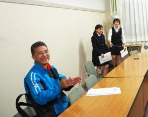 顧問の生田久志さんの指導には厳しさと優しさが。部員たちとの信頼関係で全国大会での活躍を共に目指している