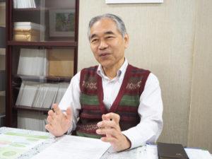 1987(昭和62)年4月から公益財団法人大倉精神文化研究所(大倉山2)の研究員として勤務、2017年4月には所長に。港北区の歴史・文化の研究や継承に尽力してきた(2019年10月29日、同研究所)