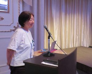 コミュニティ・カフェ運営や地域まちづくり、シニアの地域参画といったセミナーや講演会の講師として招かれることも多い