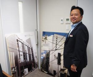 昨年10月に城南信用金庫の横浜市内初店舗として綱島支店が50周年を迎えた記念事業も無事終えることができた(2019年9月の取材時)
