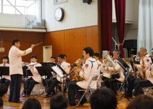 地域とのつながりから今回の演奏会の実現に至ったという神奈川県警察音楽隊(県警音楽隊)の皆さん