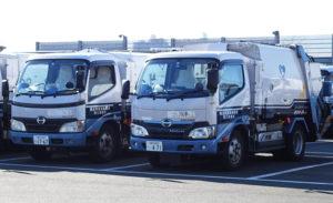港北区内を走る「ごみ収集車」約60台が、新型コロナウイルス感染症対策を呼び掛ける(資源循環局港北事務所)
