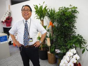 株式会社宮崎通信の濱田社長は宮崎出身。日吉や港北区内でも「宮崎さん」という愛称で親しまれてきた