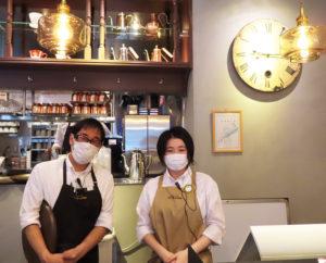 地域を知るスタッフも多く勤務。出勤前の検温やマスク着用といった感染症対策にも力を入れているという