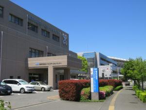 日産スタジアムにも近い鳥山町にある横浜市総合リハビリテーションセンター