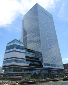 中区にある横浜市役所