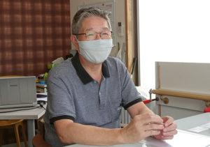 第2回「菊名北町の今」は、2019年度に会長に就任した長井貞道さんがトークを展開(港北つなぎ塾のページより)