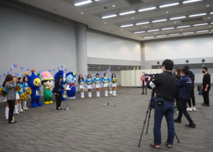横浜グリッツ公式チアリーディング「グリッツトパーズ」
