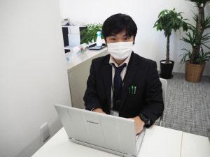 今年秋に入社した大木純さん(緑区在住)は、パソコン業界10年以上の経験を活かし「パソコン救急センター」でも活躍している
