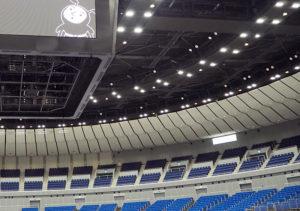横浜アリーナでは1年先の2022年1月から7月まで長期休業し、天井改修工事などを行う計画