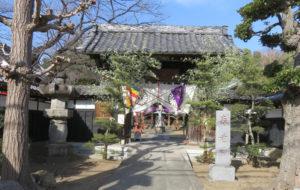 日吉本町にある金蔵寺(2021年1月、林宏美さん撮影)