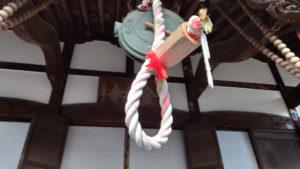 感染対策のため、鐘も突けない状況だった(金蔵寺・2020年12月、林宏美さん撮影)