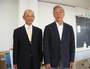 新会長に就任した大倉山・秋本さん、新羽・尾出さん(写真左より)