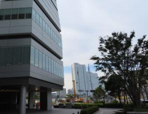 横浜市会棟(中区)とみなとみらい地区