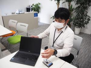 「パソコンの立ち上がりや動作のスピードが遅いと感じたらご相談ください」とパソコン救急センターの大木さん