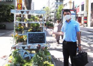 新横浜町内会にも入会。新横浜の地域まちづくりに貢献したいと意気込む