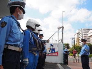 """今年3月に着任した田村署長は「悲惨な事故から区民を守りたい」との使命感を感じているといい、""""心に響く""""交通安全運動をと署員らに訴えた"""