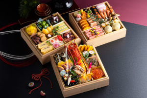 和の三段重として20個限定で販売される「大黒天」(新横浜グレイスホテル提供)